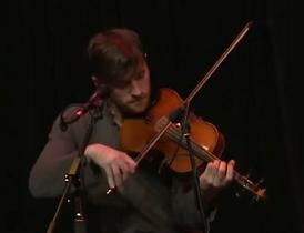 Daniel Platzman, of Imagine Dragons, playing the viola